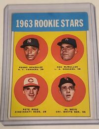 Pete Rose Rookie card