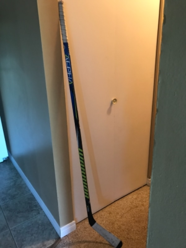 Left handed warrior hockey stick.
