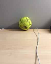 Baseball game ball