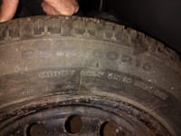 4 Winter tires used with rims 215 60 16 Montréal, H1R 2J2