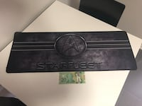 Star trek mouse pad very large 20 dollar bill for size reference Brantford, N3R 7Y5