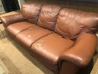 Leather couch and loveseat *delivery available* Columbus, 43212