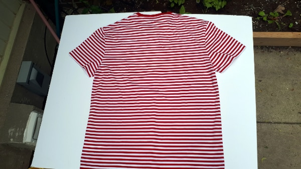 Ralph Lauren Polo Stripped T-Shirt Red/White NWT Large/Medium 1