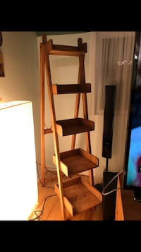 Solid pine rustic ladder Pointe-Claire, H9R 5T3