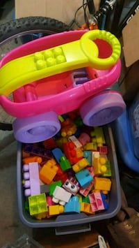 toddler's multicolored plastic toy Beaumont, T4X 1V1
