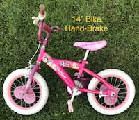 "14"" Disney Princess Bike - Hand-brake - $30 null"