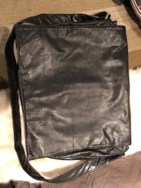 Ruffo leather messenger/laptop computer bag