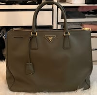 Prada Saffiano Lux Leather Large Double Zip Tote Coquitlam, V3J 7M5
