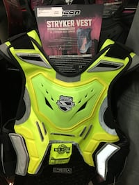 Stryker yellow motorcycle vest Falls Church, 22003