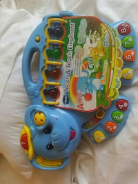 blue, yellow and red Vtech Touch & Teach Elephant Springfield, 65804
