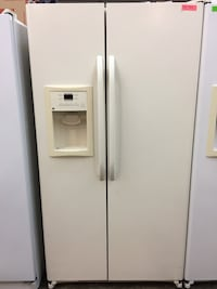 Ge beige side by side Fridge