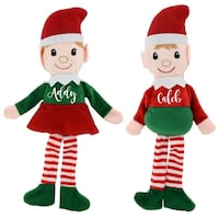 two white and red snowman plush toys Vallejo, 94591