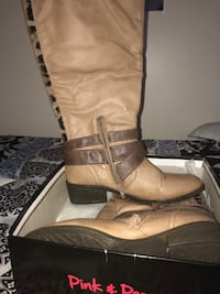 Tan and Brown Mid-Calf Boots Washington, 20012