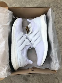 pair of white Adidas NMD shoes Buena Park, 90621