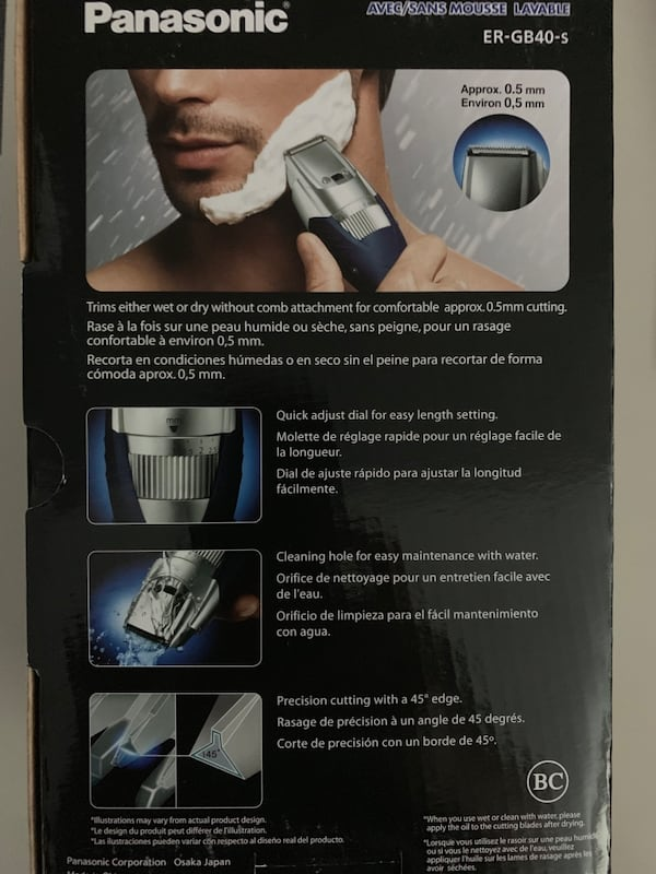 Panasonic Milano Beard Trimmer 1