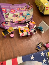 Emma's fashion design studio LEGO friends kit 3936 Madison, 35758