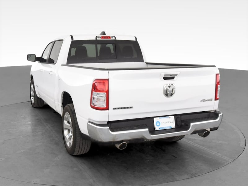 2019 Ram 1500 Crew Cab pickup Big Horn Pickup 4D 5 1/2 ft White 7