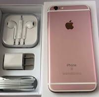 Rose gold iphone 6s set