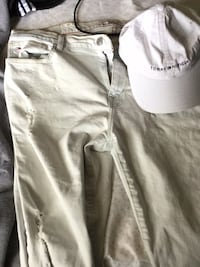 white and gray denim shorts Halifax, B4E 3N4