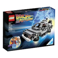 LEGO Back to the Future DeLorean Time Machine - RETIRED SET NEWYORK