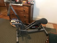 black and gray elliptical trainer Columbus, 43235