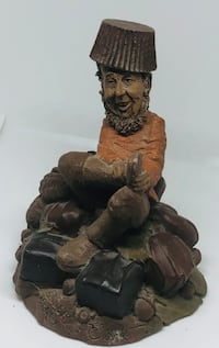Cairn Studio Tom Clark Gnome Fudge 1986 Hand Signed Clarksville
