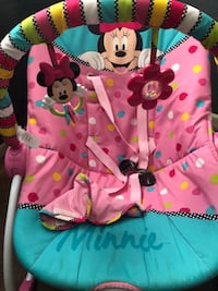 pink and black Minnie Mouse print zip-up jacket Anaheim, 92804