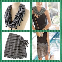 Authentic Stella & Dot Sarong - Scarf is in 1 NEW Belleville, 62223