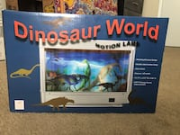 Dinosaur motion lamp! Brand New!