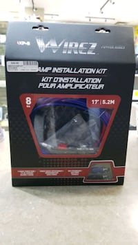 Car amp installation kit wirez Ajax, L1S 3V4