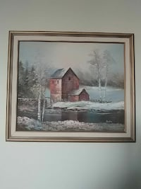 painting of house near body of water and trees wit Toronto, M9P 1A7
