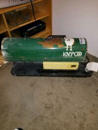 Knipco portable heater. Seattle, 98106