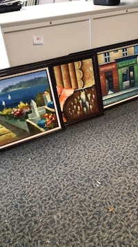 Canvas paintings with picture frames Liverpool, 13088