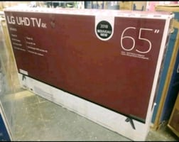 "TV 65"" NEW 4K SMART UHD LG"
