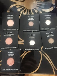 Mac Makeup pans. New