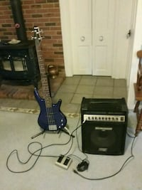 Bass guitar and performance amp Painesville, 44077