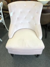 Brand New Pale Pink Occasional Chair London, N6L