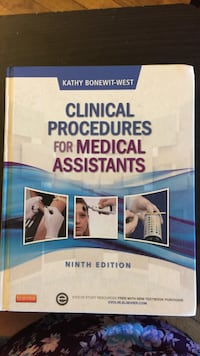 Clinical procedures fro medical assistants book Brentwood, 37027