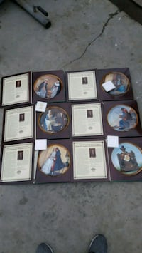 NORMAN ROCKWELL SET OF PLATES Los Angeles, 90003
