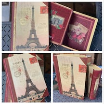 "Paris Themed ""Book"" Boxes"