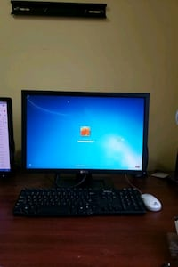 "Used Computer (Monitor 24"", Key Board, Mouse & CPU without Hard drive)"