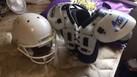 Schutt football helmet and Adams shoulder pads Denham Springs, 70726