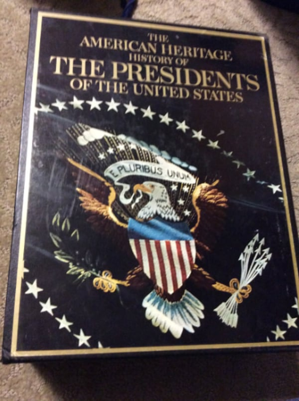 JR The American Heritage History of The Presidents of the US 77ace5ee-55e3-40e2-849a-6aadcc2eda28