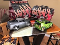 RIDEMAKERZ remote control cars and accessories. $25 for both