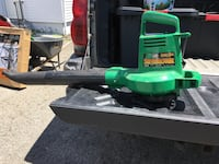 Electric green and black leaf blower Dracut, 01826