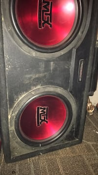 "Mtx audio subs with alpine 50"" watt amp and alpine deck  Richmond Hill, L4C 7Y4"