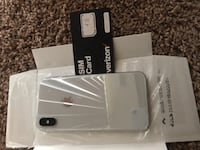 iPhone X 64 gb silver District Heights, 20747