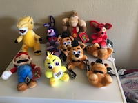 assorted TY Beanie Baby plush toys San Antonio, 78251
