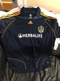 La Galaxy men's xxl David Beckham blue jersey