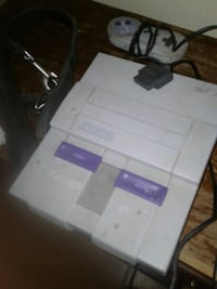 Super Nintendo with remotes Montreal